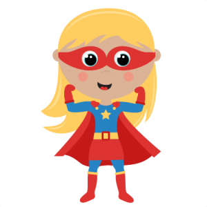 Girl Superhero cut files SVG cutting files for scrapbooking superhero clipart clip art cute free svg cuts