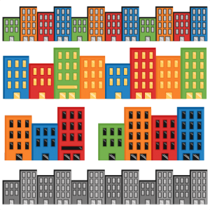 Superhero Cityscapes SVG cutting files for scrapbooking superhero clipart clip art cute free svg cuts