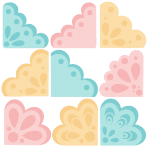 Corner Set SVG cutting files for scrapbooking corner cut files free svgs free svg cuts cute cuts for silhouette