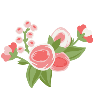 Pretty Flower Group cut file SVG cutting file for scrapbooking flower svg cut files free svgs cute cut files for cricut