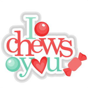 I Chews You Chewing Gum  scrapbook cuts SVG cutting files doodle cut files for scrapbooking clip art clipart doodle cut files for cricut free svg cuts