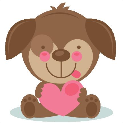 cute valentine puppy scrapbook cuts svg cutting files doodle cut rh misskatecuttables com cute valentine clipart black and white cute valentine's day clipart