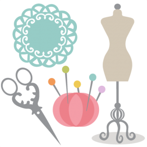 Sewing Set SVG cutting files for scrapbooking cute clip art cute sewing set svg cut files free svgs
