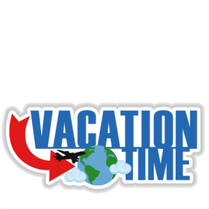 Vacation Time scrapbook title cut files for cricut  SVG cutting files for scrapbooking cute cut files travel svg cut files free svgs