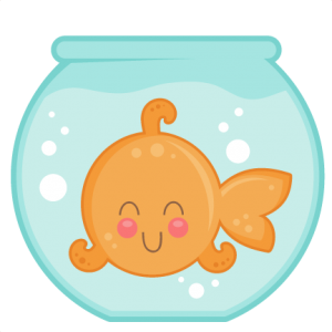Goldfish In Bowl SVG cut files for cricut silhouette pazzels free svgs free svg cuts cute cut files
