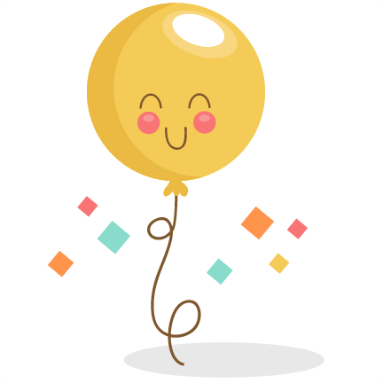 Birthday Balloon SVG scrapbook birthday svg cut files birthday svg files free svgs free svg cuts