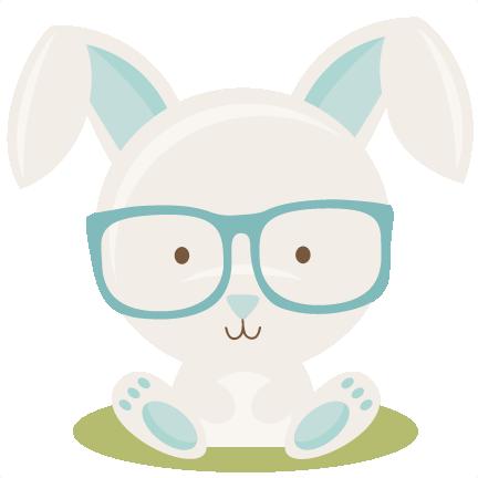 Easter bunny boy. Scrapbook cuts svg cutting
