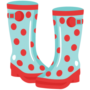 Rainboots SVG cutting file for scrapbooking cute cut files free svgs cricut silhouette svg cut files clip art