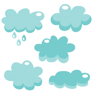 Cloud Set SVG cutting file for scrapbooking cute cut files free svgs cricut silhouette svg cut files clip art