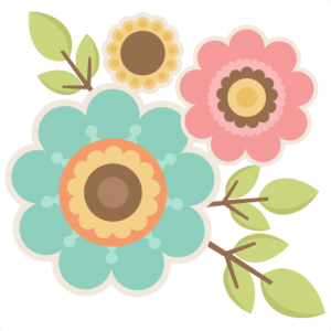 Twigs with Flowers SVG cutting files for scrapbooking  cute svg cuts free svgs for cricut cutting files silhouette