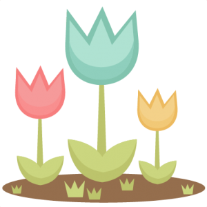 Spring Tulips SVG cutting file for scrapbooking cute cut files free svgs cricut silhouette svg cut files clip art