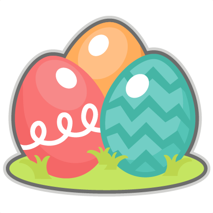 Easter Eggs Scrapbook Cuts SVG Cutting Files Doodle Cut For Scrapbooking Clip Art Clipart Cricut Free Svg