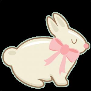 Easter Bunny scrapbook cuts SVG cutting files doodle cut files for scrapbooking clip art clipart doodle cut files for cricut free svg cuts