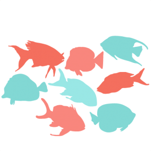 Tropcial Fish Set SVG scrapbook cut file cute clipart files for silhouette cricut pazzles free svgs free svg cuts cute cut files
