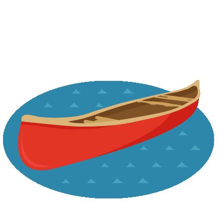 Canoe SVG Scrapbook Cut File Cute Clipart Files For Silhouette Cricut Pazzles Free Svgs Svg Cuts