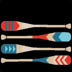Canoe Paddles  SVG scrapbook cut file cute clipart files for silhouette cricut pazzles free svgs free svg cuts cute cut files