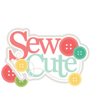 Sew Cute Title SVG scrapbook cut file cute clipart files for silhouette cricut pazzles free svgs free svg cuts cute cut files