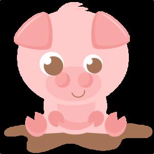 Pig SVG scrapbook cut file cute clipart files for silhouette cricut pazzles free svgs free svg cuts cute cut files