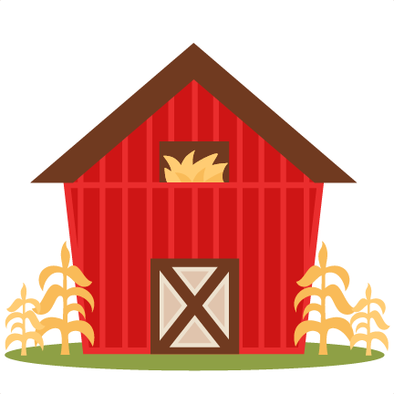 Farm Barn SVG Scrapbook Cut File Cute Clipart Files For Silhouette