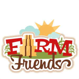 Farm Friends Title SVG scrapbook cut file cute clipart files for silhouette cricut pazzles free svgs free svg cuts cute cut files