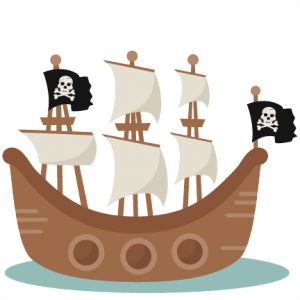 Pirate Ship SVG scrapbook cut file cute clipart clip art files for silhouette cricut pazzles free svgs free svg cuts cute cut files